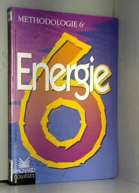 Energie 6e : méthodologie