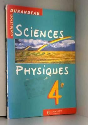 Sciences physiques, 4e