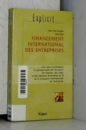 Financement international...