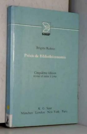 Précis de bibliothéconomie