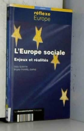 L'EUROPE SOCIALE. : Enjeux...
