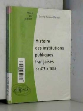 Histoire des institutions...