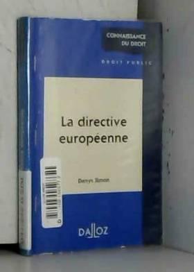 La directive européenne
