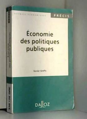 Economie des politiques...