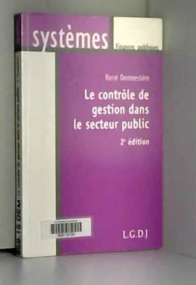 Le contrôle de gestion dans...