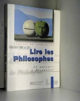 Lire les philosophes,...