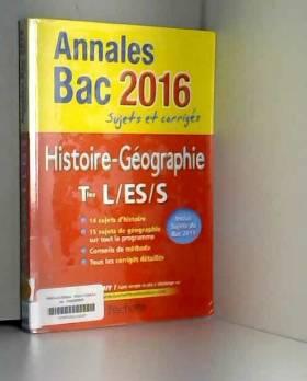 Annales 2016 Histoire-Géo...