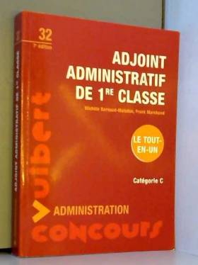 Adjoint administratif de 1e...