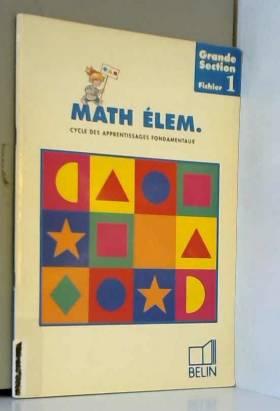 Mathématiques élémentaires...