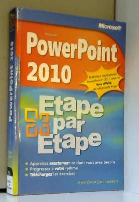 PowerPoint 2010 - Étape par...