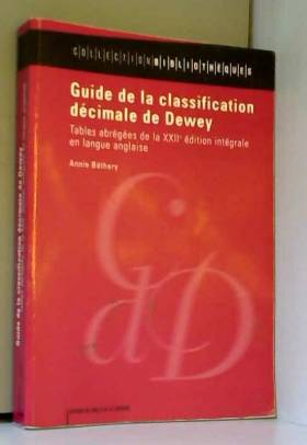 Guide de la classification...