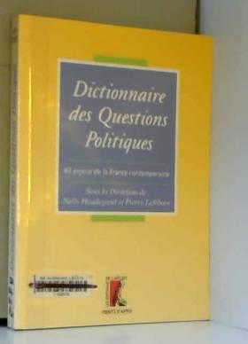 Dictionnaire des questions...