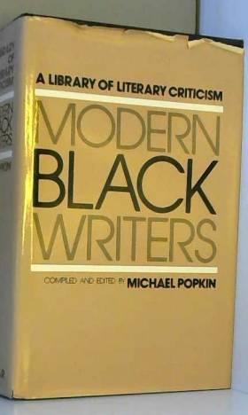 Michael H. Popkin, Michael H. Popkin, Michael... - Modern Black Writers