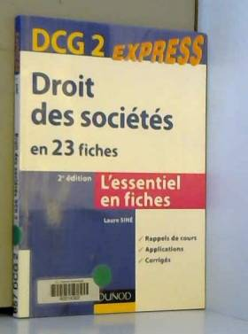 Droit des sociétés DCG 2 -...