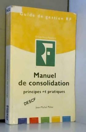 Manuel de consolidation :...
