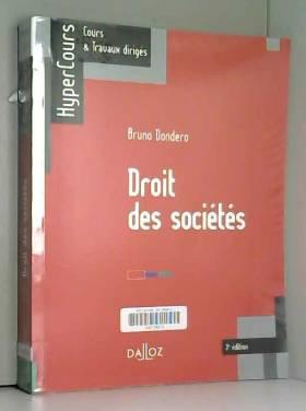 Droit des sociétés - 3e éd.