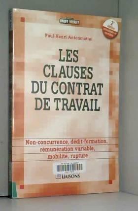 Les clauses du contrat de...