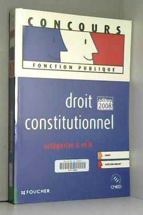DROIT CONSTITUTIONNEL...