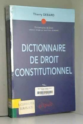 Dictionnaire de droit...