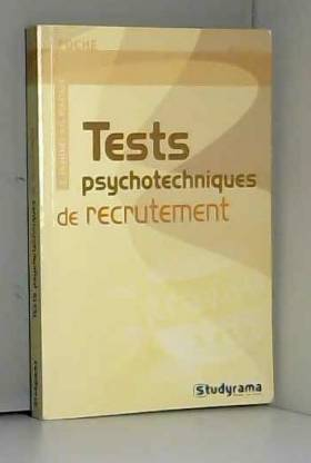 Tests psychotechniques de...