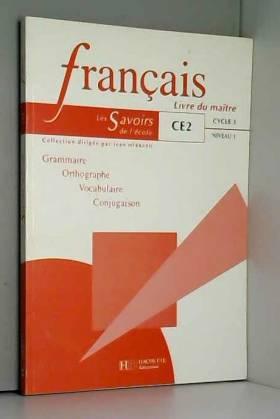 Francais Ce2 Livre Du Maitre