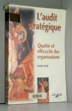 L'AUDIT STRATEGIQUE....