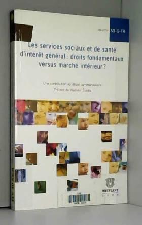 Les services sociaux et de...