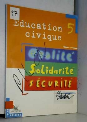 Education civique 5e :...