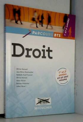 Parcours Droit BTS 1re et...