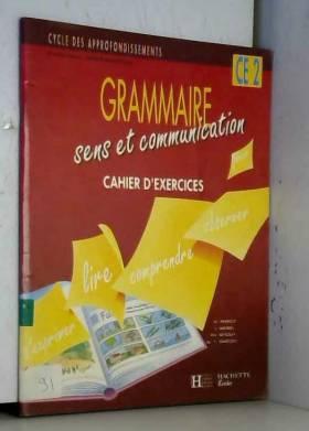 Grammaire, sens et...