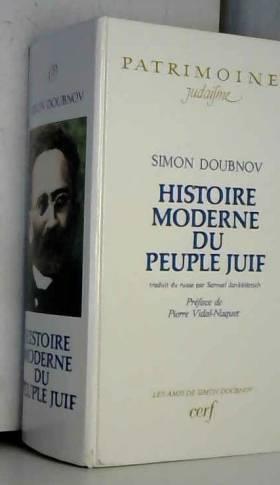 Histoire moderne du peuple...