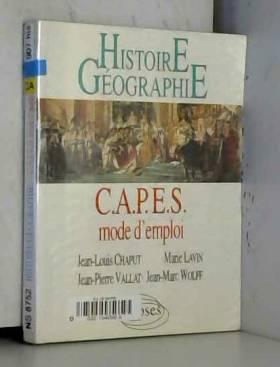 Histoire/Géographie CAPES...