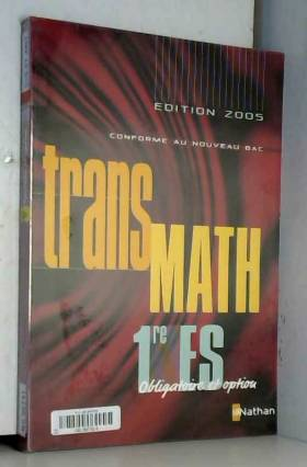 Transmath 1e ES Obligatoire...