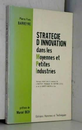 Stratégie d'innovation dans...