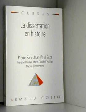 La dissertation en histoire
