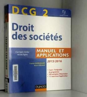 DCG 2 - Droit des sociétés...