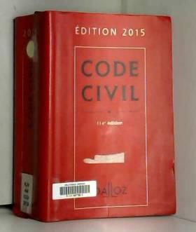 Code civil 2015 - 114 e éd.