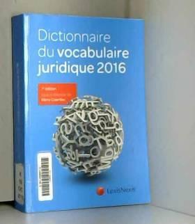 Dictionnaire du vocabulaire...