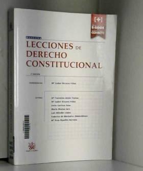 Mª Fuencisla Alcón Yustas - Lecciones de Derecho Constitucional