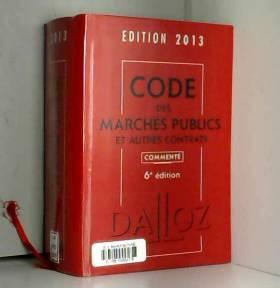 Code des marchés publics et...