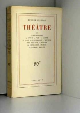 Théâtre, tome 4