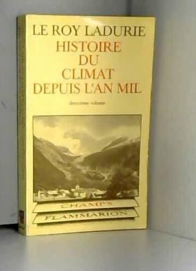 Histoire du climat depuis...