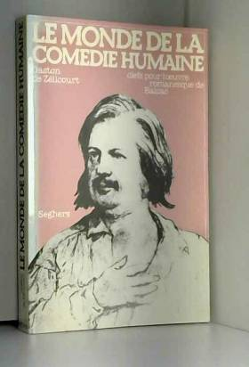 MONDE DE LA COMEDIE HUMAINE
