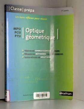 Optique géométrique - PCSI...
