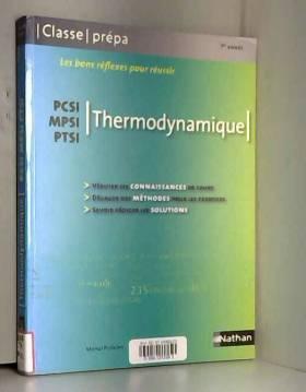 Thermodynamique PCSI / MPSI...