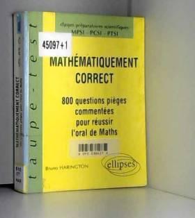 Mathématiquement correct :...