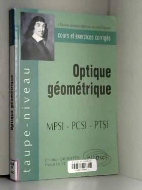 Optique géométrique...
