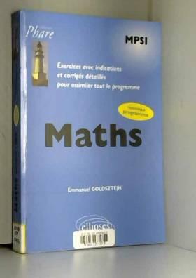 Maths MPSI Exercices avec...