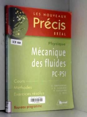 Mécanique des fluides PC-PSI