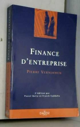 FINANCE D'ENTREPRISE. 3ème...